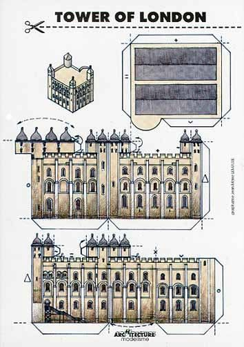 095 - Tower of London - Bastelkarte