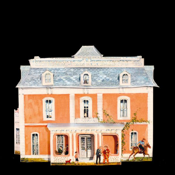 pm08 - American houses syle Mansard