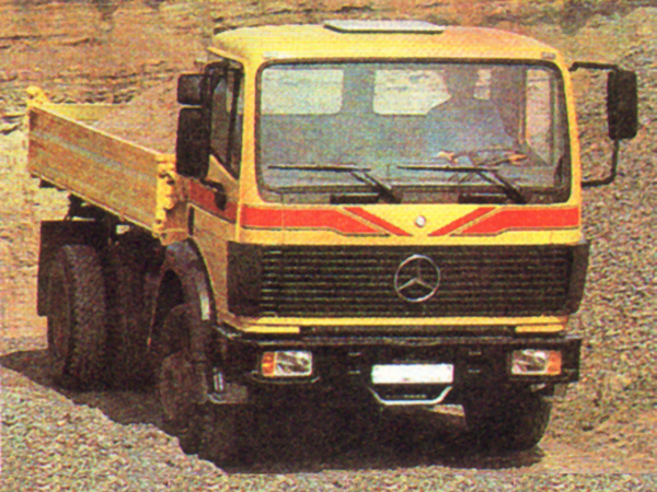 TBS 510 - Mercedes-Benz - Kipper MB 1729 AK  1-120